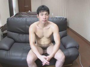 【ゲイ動画】スポーツ大好きノンケスポメンの全裸シャドーボクシングと電マを使ったオナニーを撮影する!