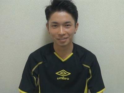 【ゲイ動画】サカユニ姿が似合う19歳の爽やかイケメンのチンポから1週間溜めたザーメンをオナホールで搾り取る!