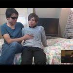 【ゲイ動画】カップルの彼氏が男相手にどこまで身体を許せるかモニタリング…隠しカメラで彼氏がヤラれているところを彼女が見る!