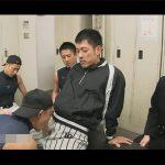 【ゲイ動画】野球部の部室で部員をイジメているところを見た監督が連帯責任として部員全員に強制フェラ&アナルセックス!