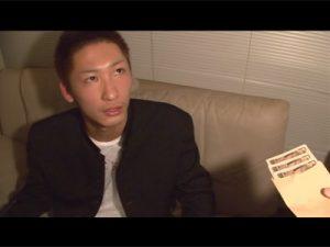 【ゲイ動画】給食費を盗もうとした学ランの男子校生が警備員に見つかってしまい脅されチンポを警備員のケツ穴に提供!