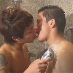 【ゲイ動画】可愛い系とオラオラ系がお風呂を楽しんでからアナルセックスをして愛し合うことになる!