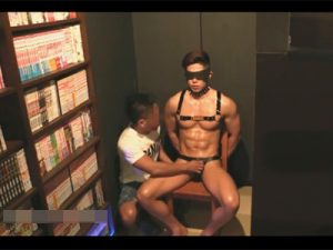 【ゲイ動画】掲示板にネカフェにノンケ肉便器を設置したと書き込み…イケメンがケツマンコを犯されて性処理に使われる一部始終!