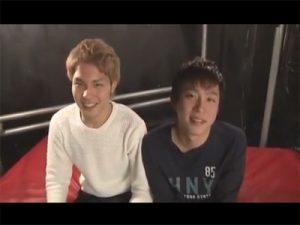 【ゲイ動画ビデオ】初対面でイチャラブセックス!恋人のようなプレイでイチャイチャしバックハメと正常位ハメで小刻みピストン!