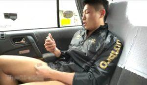 タクシー_オナニー_イケメン_露出_ゲイ画像5
