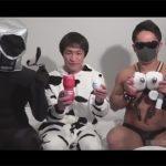 【ゲイ動画】YouTuber風にアダルトグッズを実演しながら紹介!おもちゃで責められた後は助手のチンポで犯される!