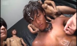色黒_ギャル男系_ぶっかけ_ごっくん_ゲイ画像5