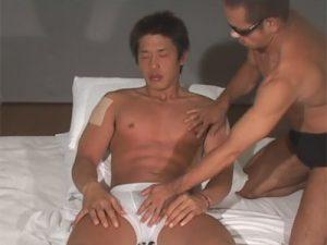 【ゲイ動画ビデオ】アスリート系のマッチョな男がゴーグルマンとのアナルセックスを楽しんで絶頂をする!