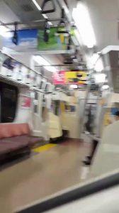 地下鉄_フェラチオ_露出_個人撮影_ゲイ画像2