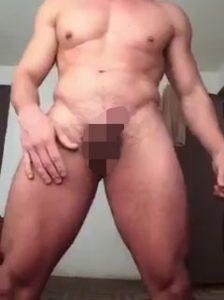 マッチョ_チクニー_巨根チンポ_トコロテン_ゲイ画像3