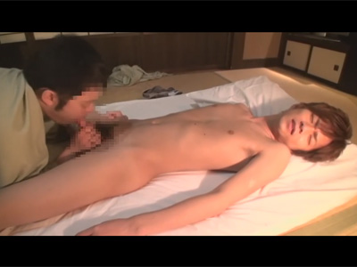 【ゲイ動画】ジャニーズ系のイケメンが和室の中で愛を感じながら全身を攻められ続けることになる!