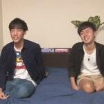 【ゲイ動画】友達関係のイケメンがアイマスク姿で対面してからカメラの前でアナルセックスを楽しむことになる!