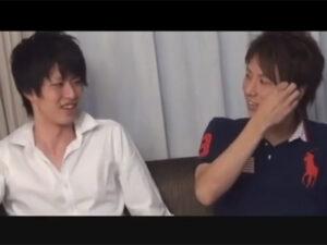 【ゲイ動画ビデオ】2人のさわやか系なイケメンたちがアナルセックスをイチャイチャしながら楽しむことになる!