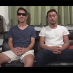 【ゲイ動画】マッチョなイカニモ系の男がゴーグルマンに淫乱に攻められて果てることになる!
