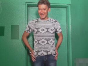 【ゲイ動画ビデオ】真っ黒に焼けているマッチョな不細工な男が笑顔で全身をスケベに刺激されることになる!