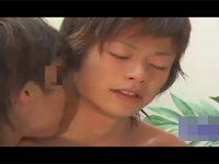 【ゲイ動画】スリ筋なイケメンがアナルセックスを楽しんで顔射で悶えることになる!